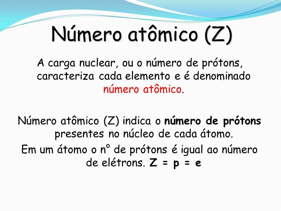 Número atômico (Z)