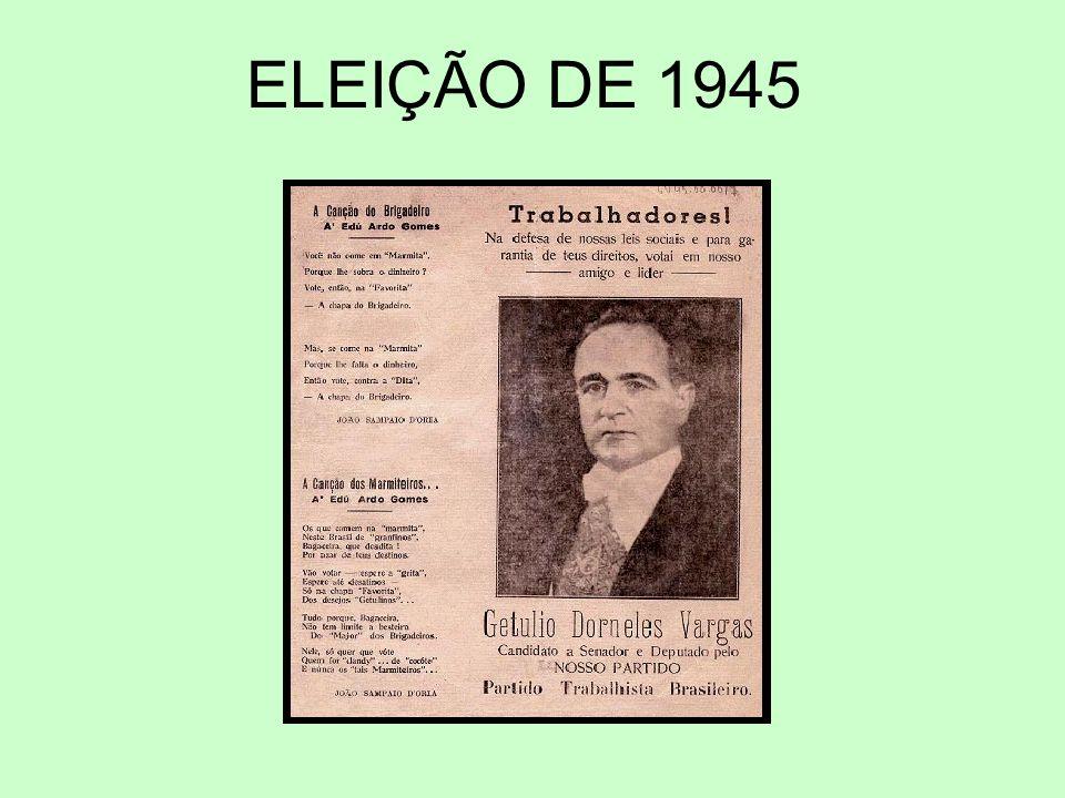 ELEIÇÃO DE 1945