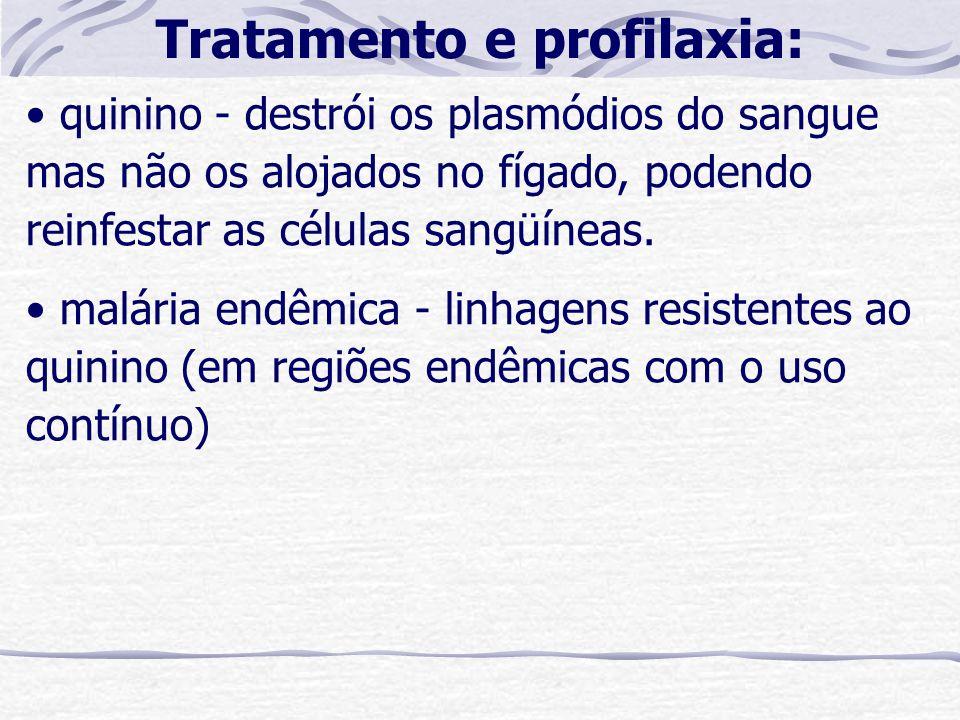 Tratamento e profilaxia:
