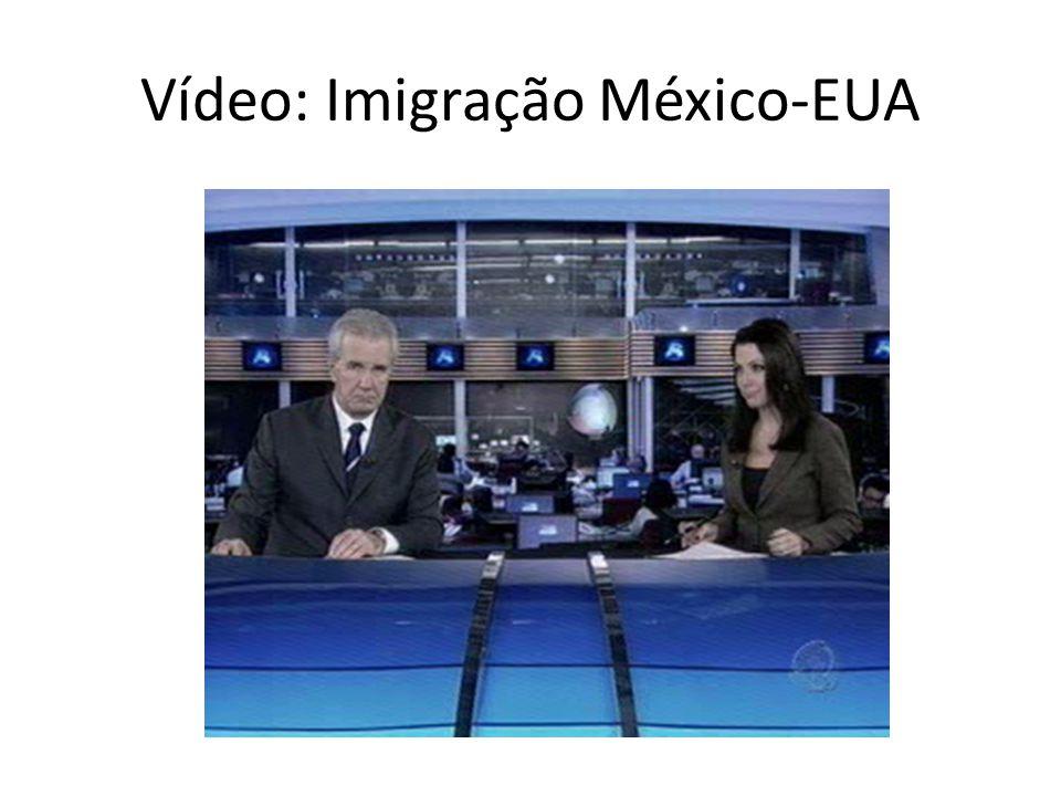 Vídeo: Imigração México-EUA
