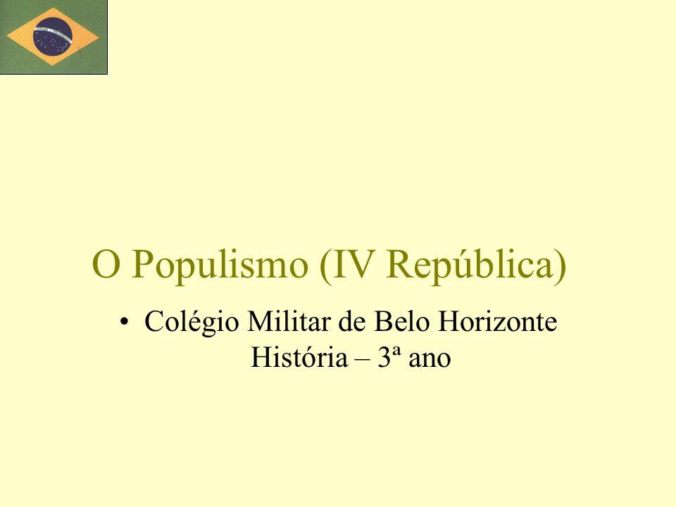O Populismo (IV República)