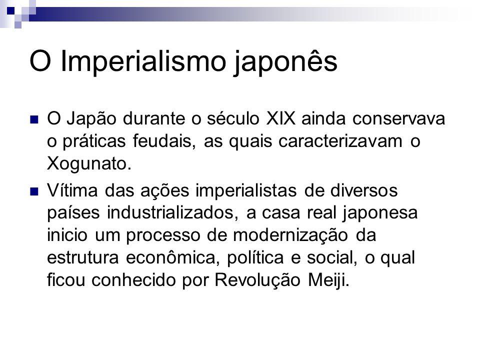 O Imperialismo japonês