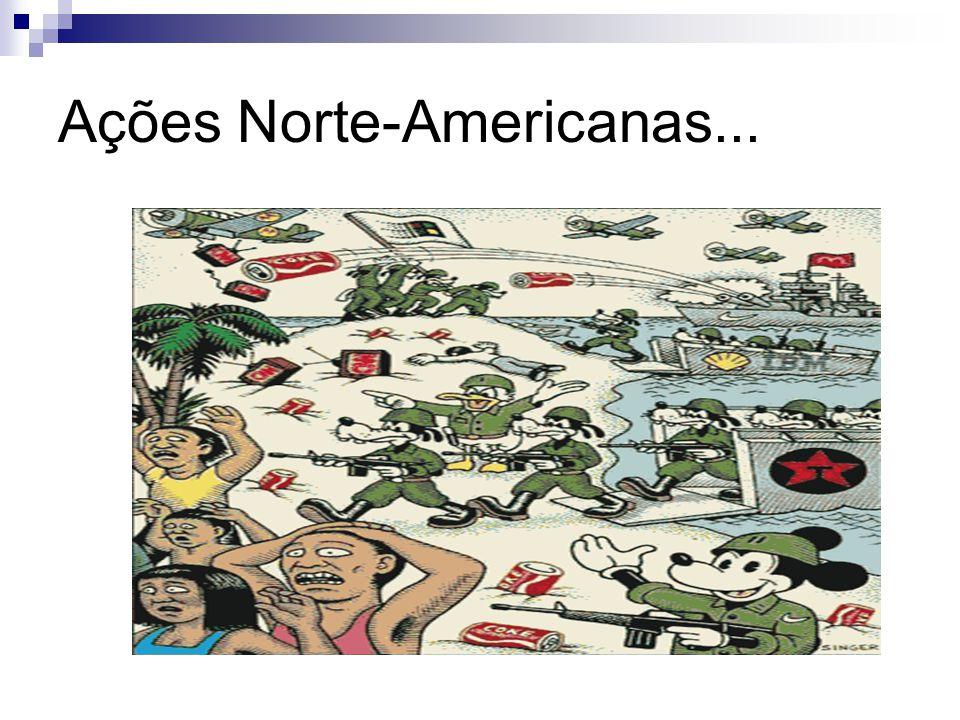 Ações Norte-Americanas...