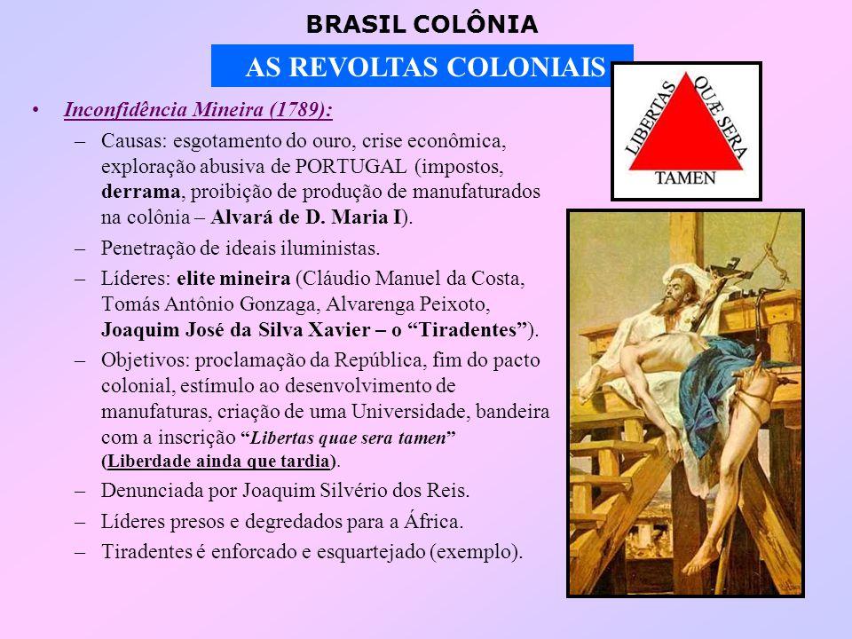Inconfidência Mineira (1789):