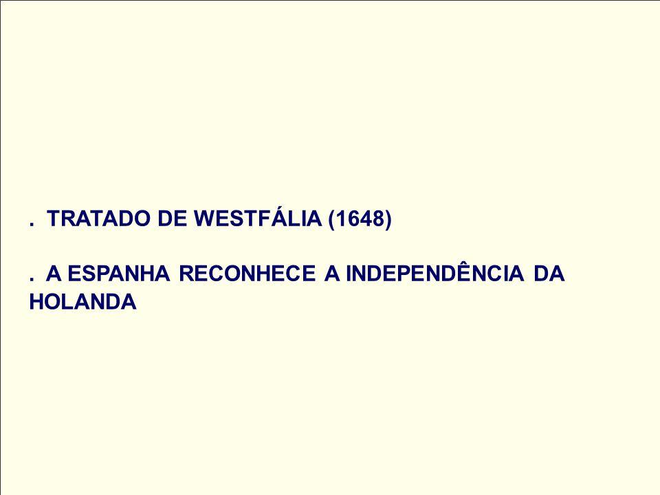 TRATADO DE WESTFÁLIA (1648)