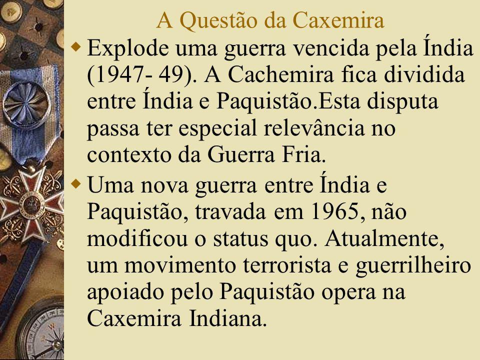 A Questão da Caxemira