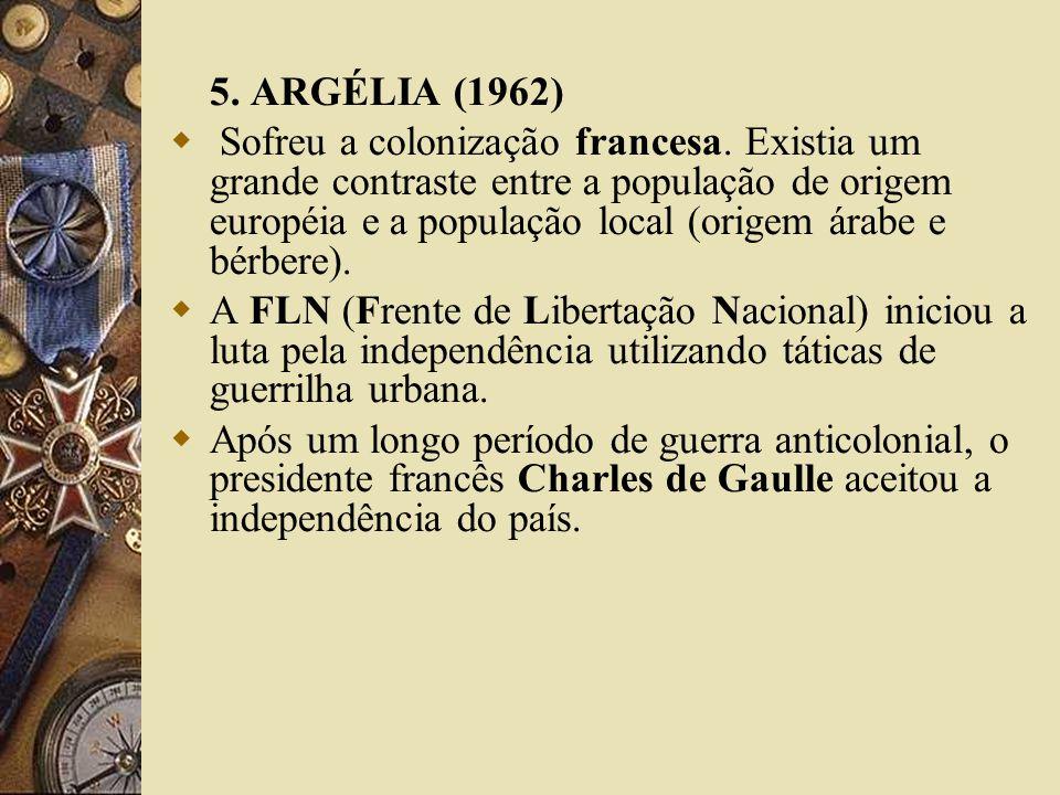 5. ARGÉLIA (1962)