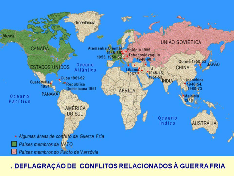. DEFLAGRAÇÃO DE CONFLITOS RELACIONADOS À GUERRA FRIA