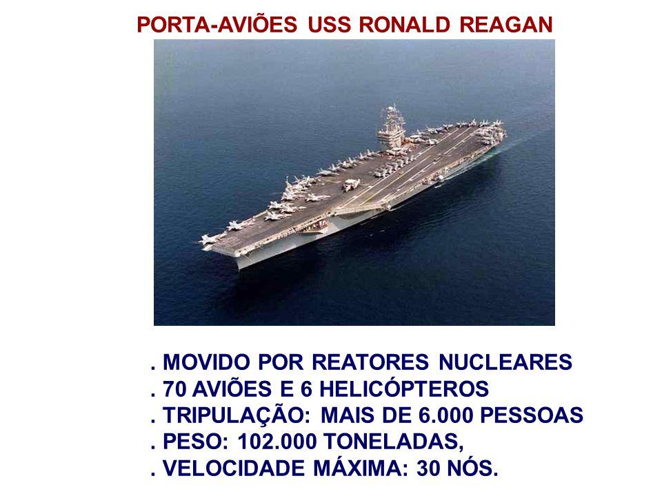 PORTA-AVIÕES USS RONALD REAGAN