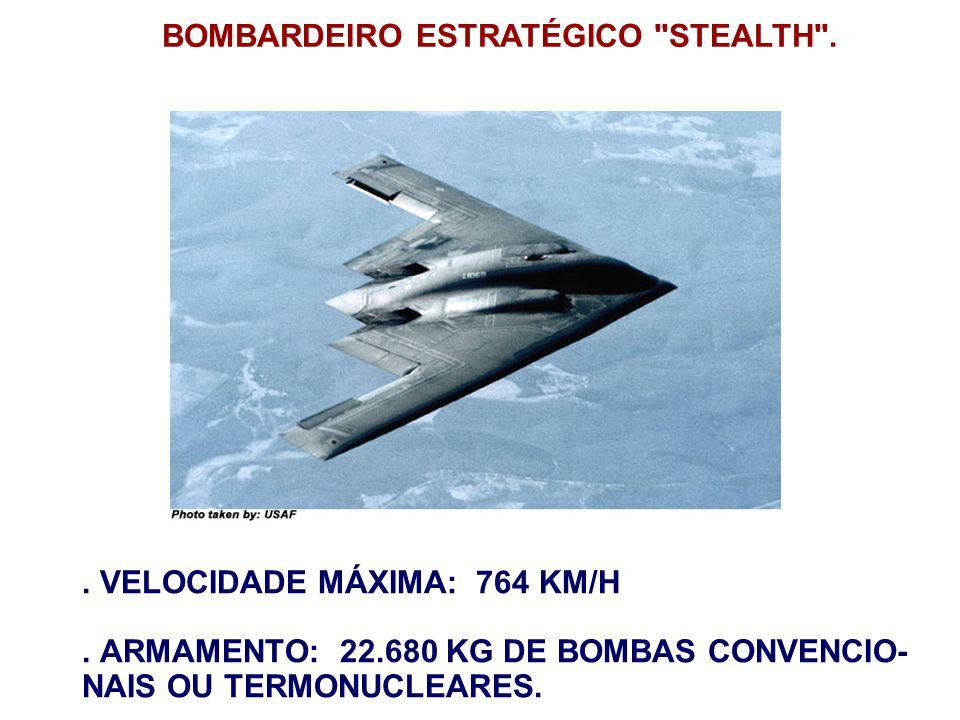 BOMBARDEIRO ESTRATÉGICO STEALTH .