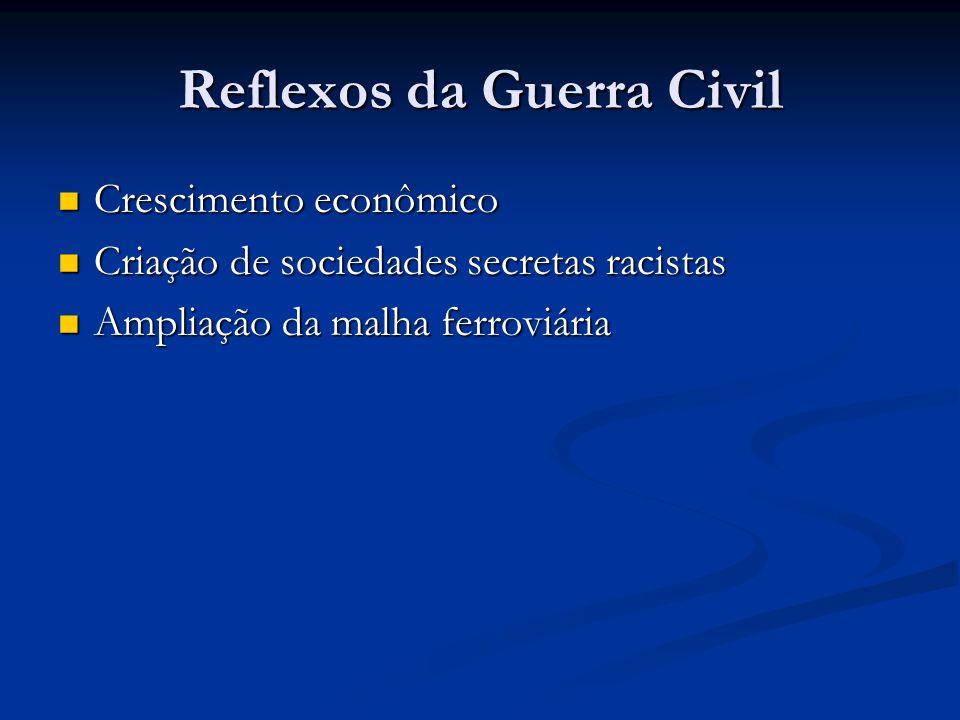 Reflexos da Guerra Civil