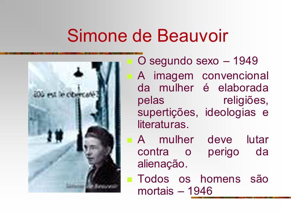 Simone de Beauvoir O segundo sexo – 1949