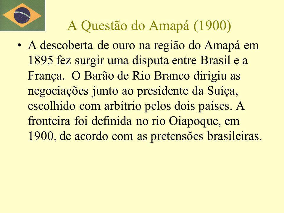 A Questão do Amapá (1900)