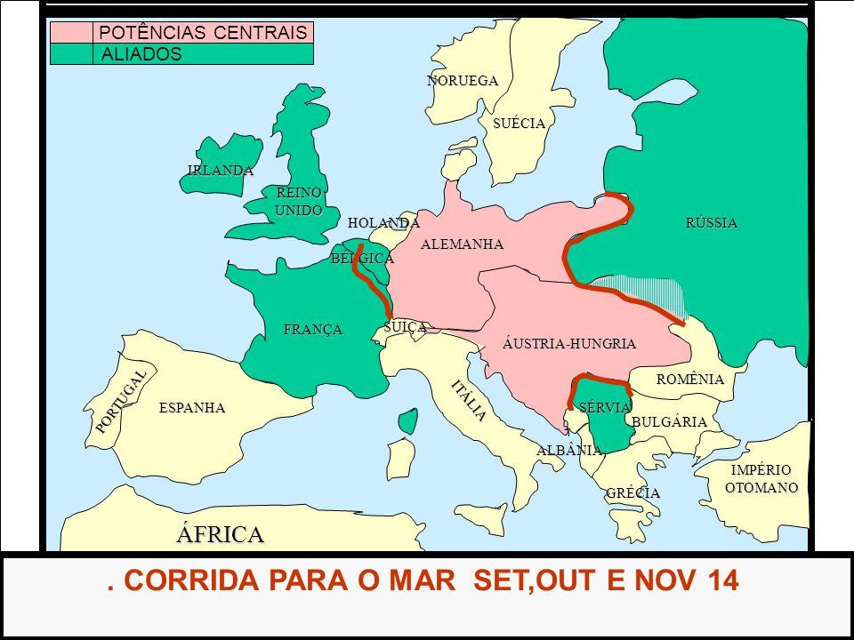 . CORRIDA PARA O MAR SET,OUT E NOV 14