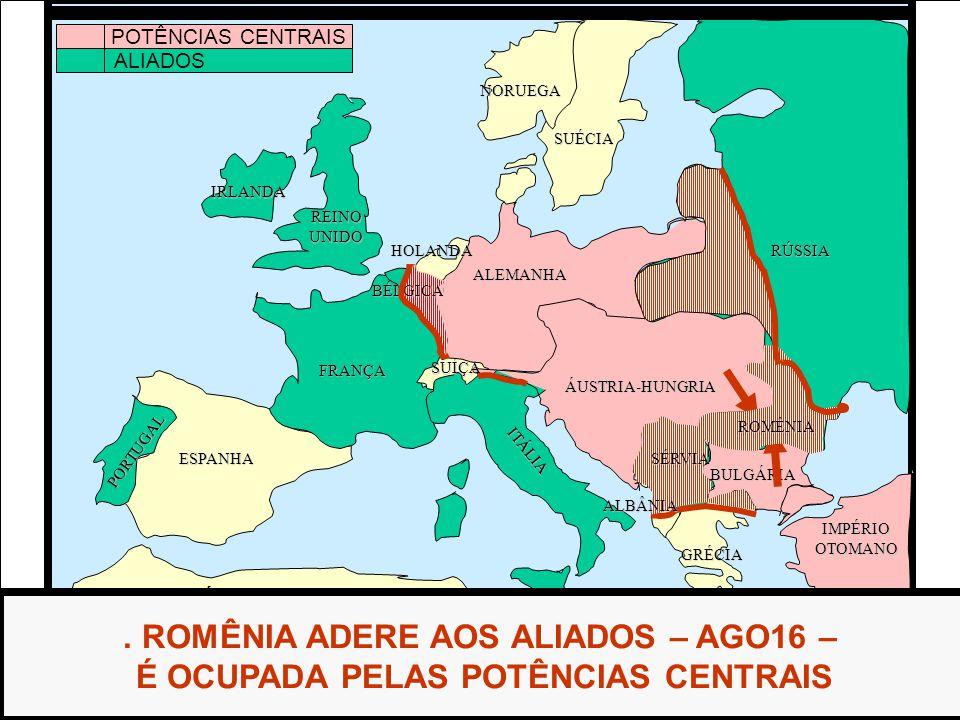. ROMÊNIA ADERE AOS ALIADOS – AGO16 –