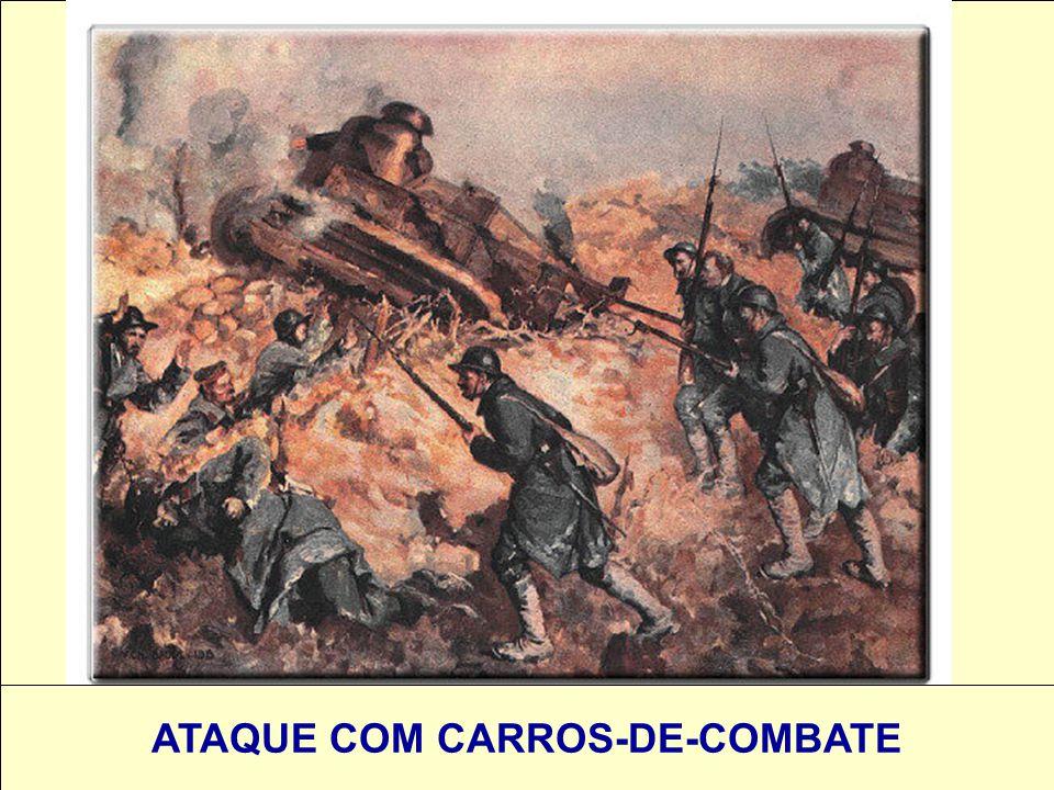 ATAQUE COM CARROS-DE-COMBATE