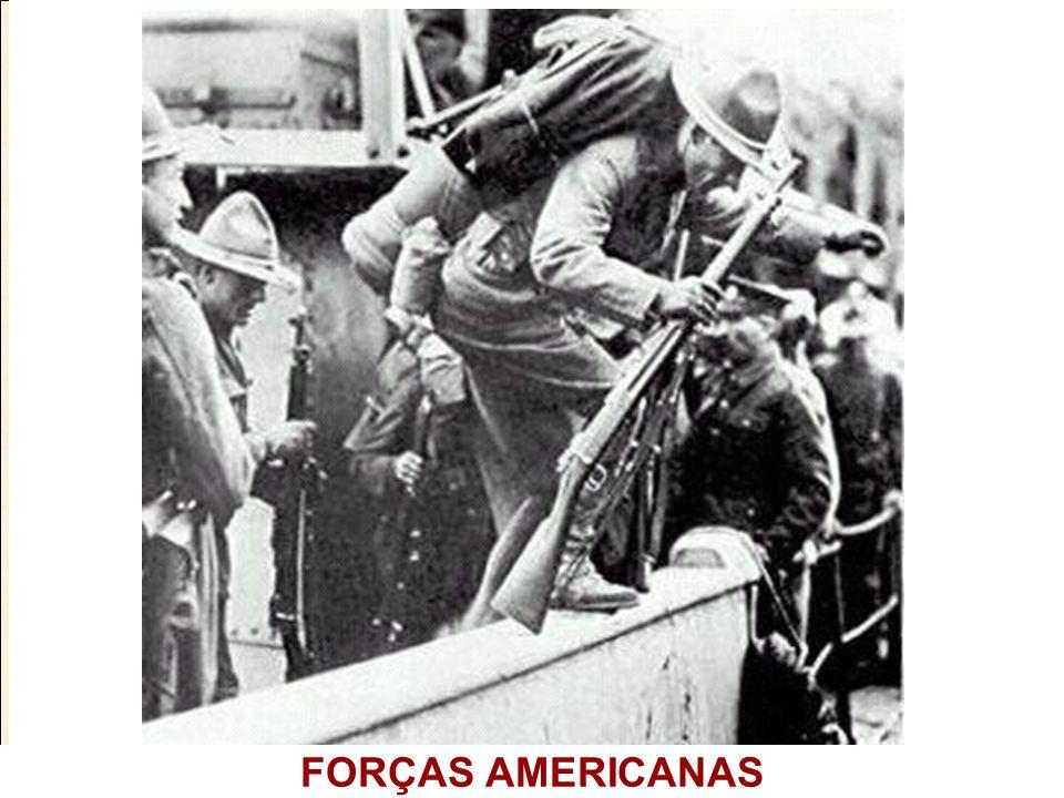 FORÇAS AMERICANAS