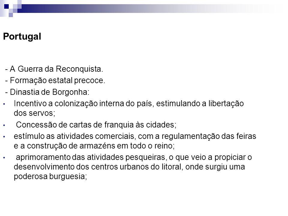 Portugal - A Guerra da Reconquista. - Formação estatal precoce.