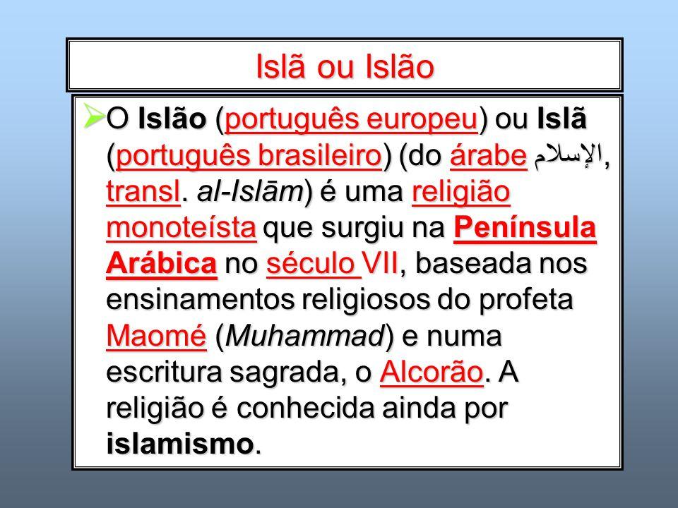 Islã ou Islão