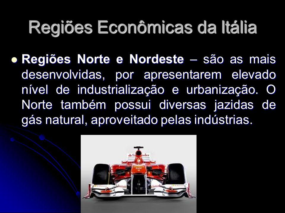 Regiões Econômicas da Itália