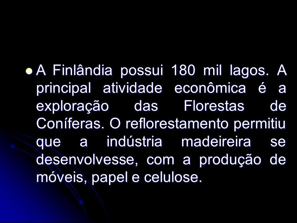 A Finlândia possui 180 mil lagos