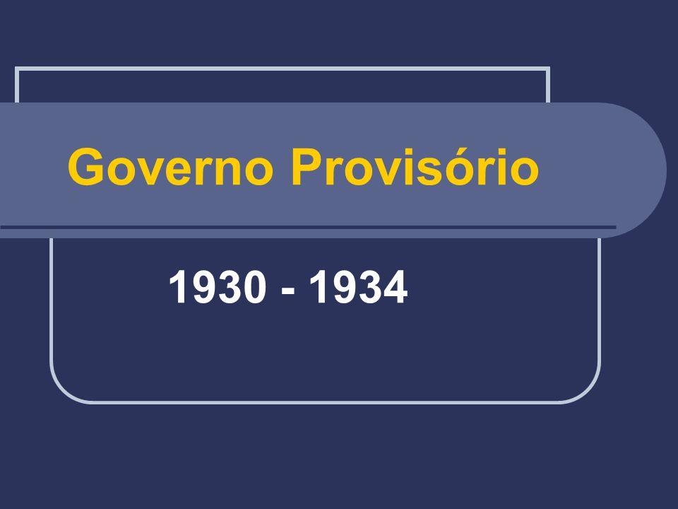 Governo Provisório 1930 - 1934