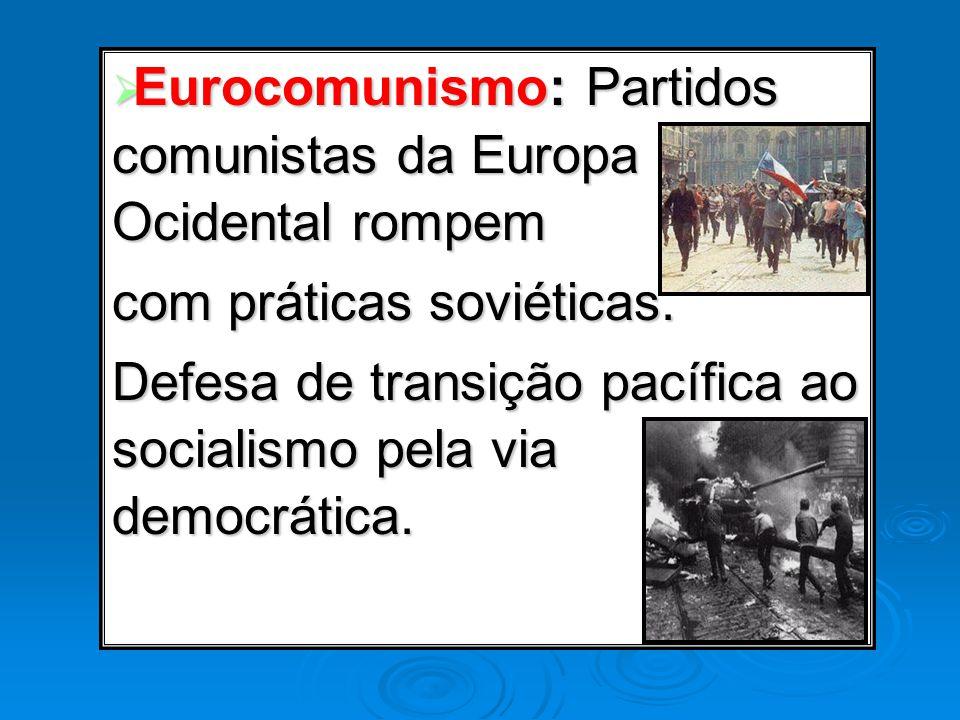 Eurocomunismo: Partidos comunistas da Europa Ocidental rompem