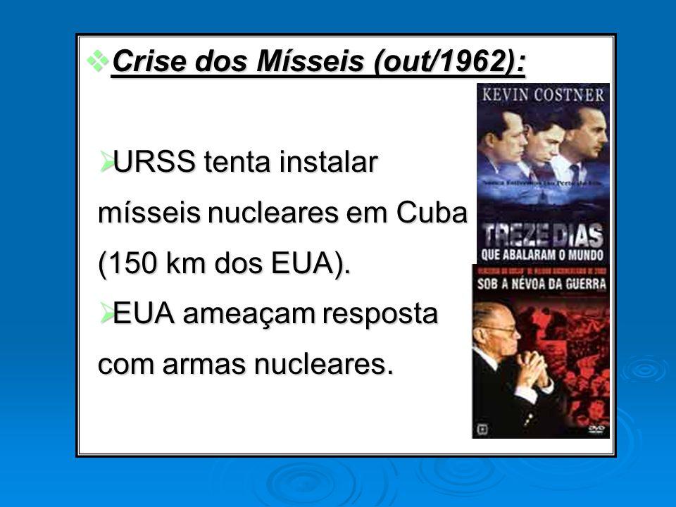 Crise dos Mísseis (out/1962):