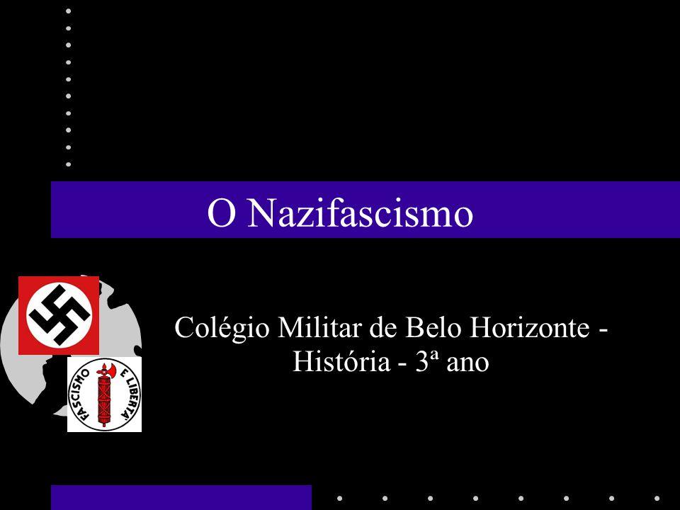 Colégio Militar de Belo Horizonte - História - 3ª ano