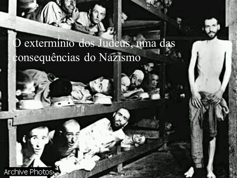 O extermínio dos Judeus, uma das