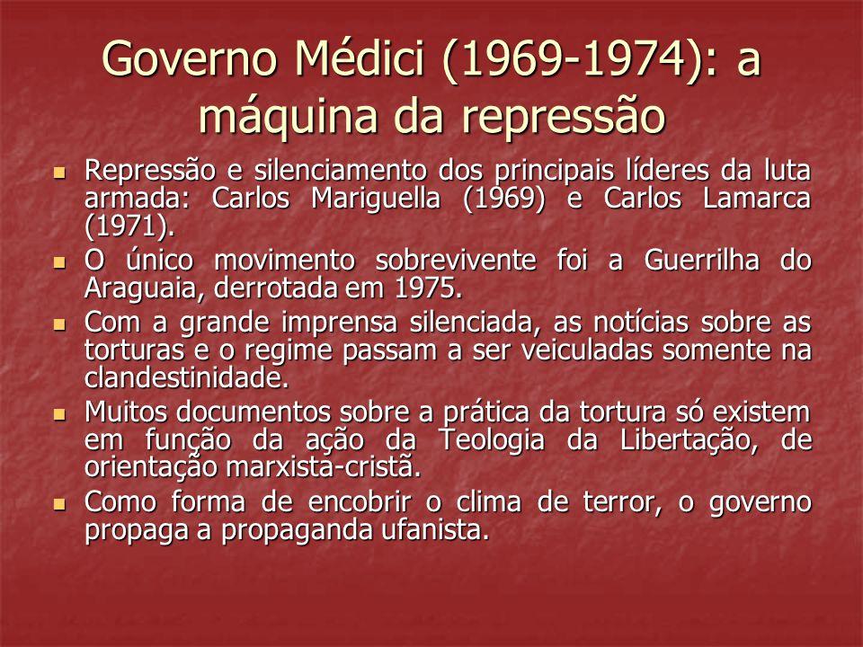 Governo Médici (1969-1974): a máquina da repressão