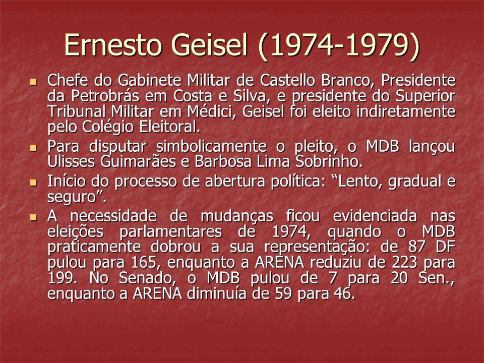Ernesto Geisel (1974-1979)