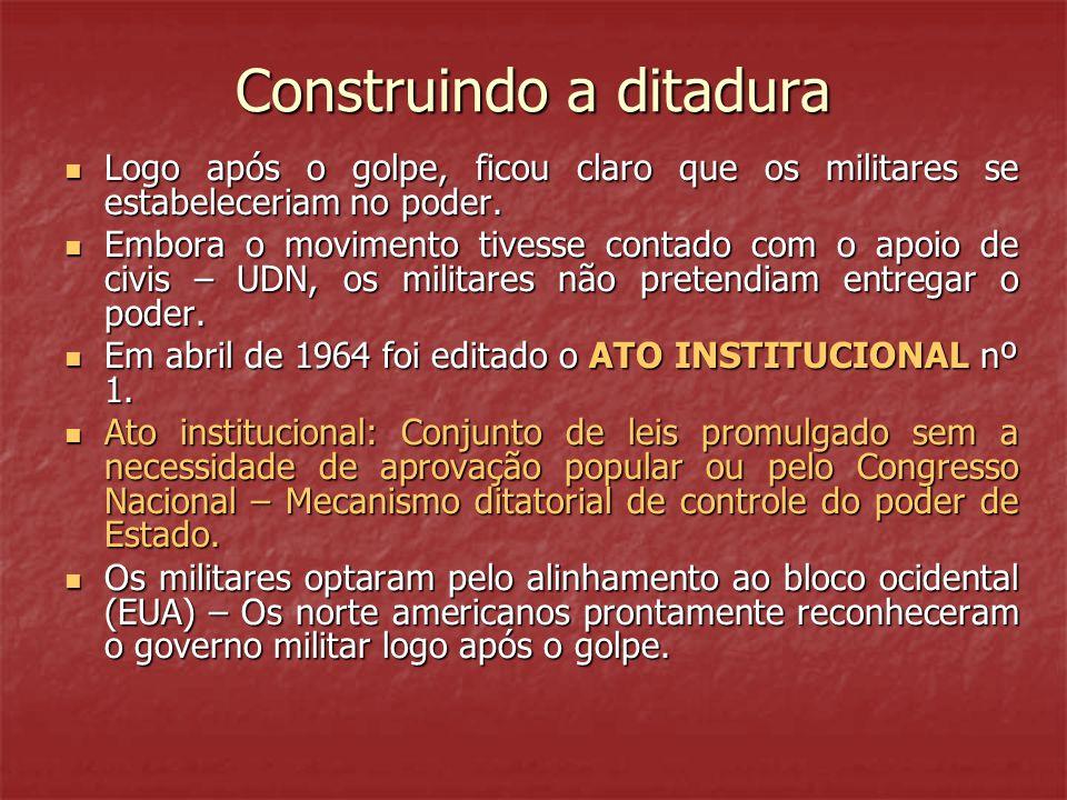 Construindo a ditadura
