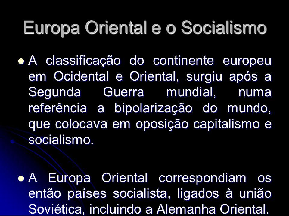 Europa Oriental e o Socialismo