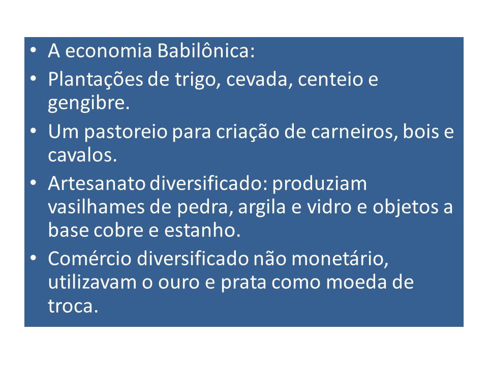 A economia Babilônica: