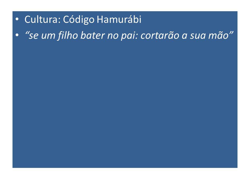Cultura: Código Hamurábi