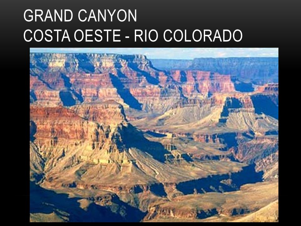 Grand Canyon costa oeste - rio Colorado