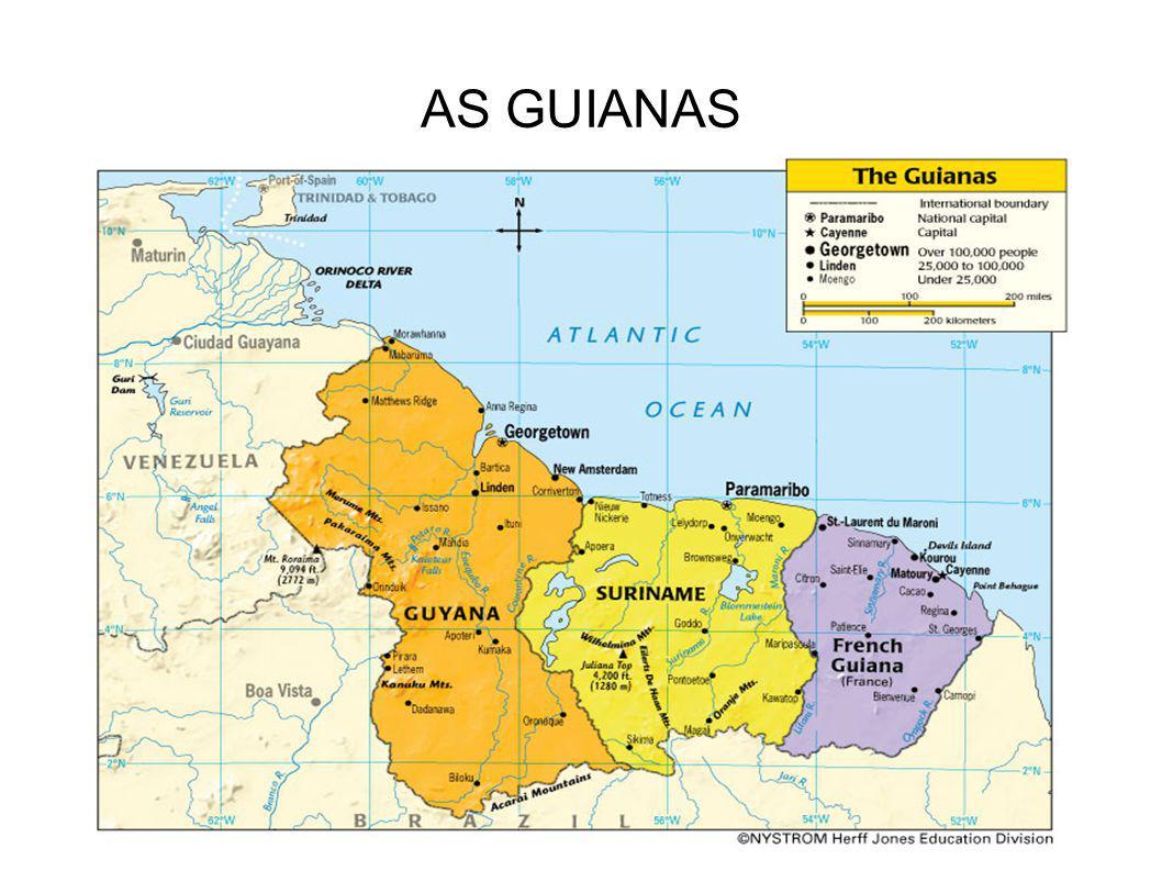AS GUIANAS