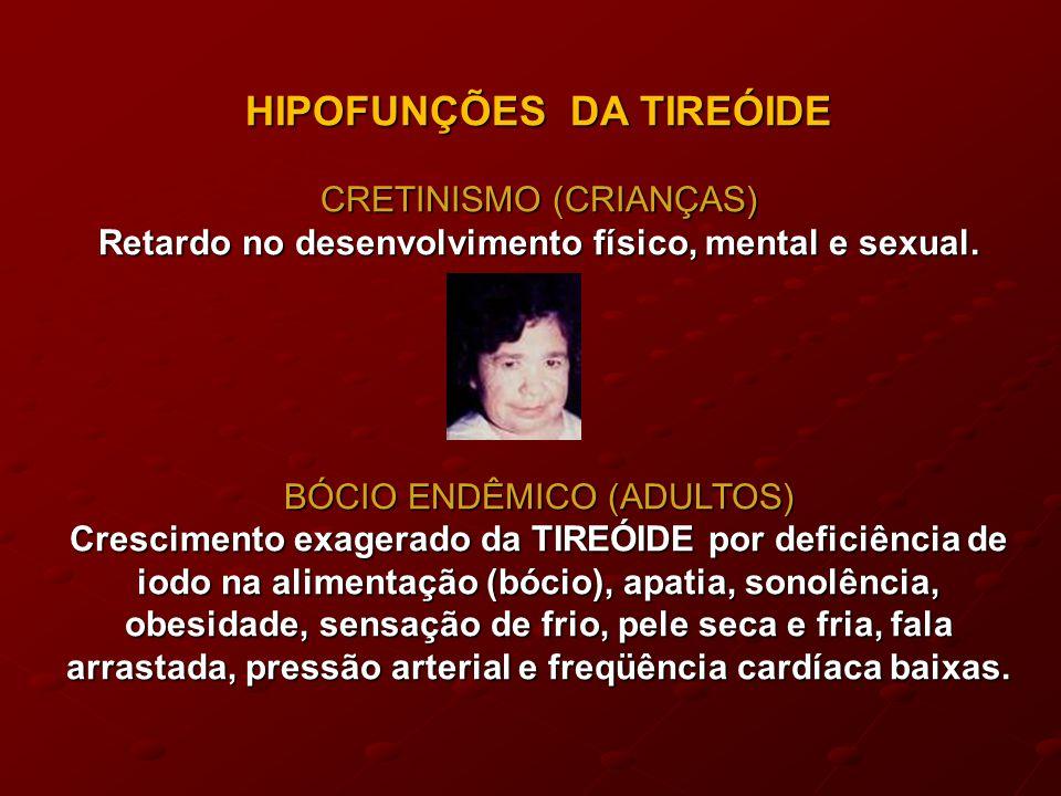 HIPOFUNÇÕES DA TIREÓIDE