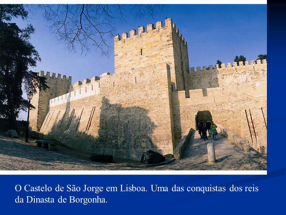 O Castelo de São Jorge em Lisboa