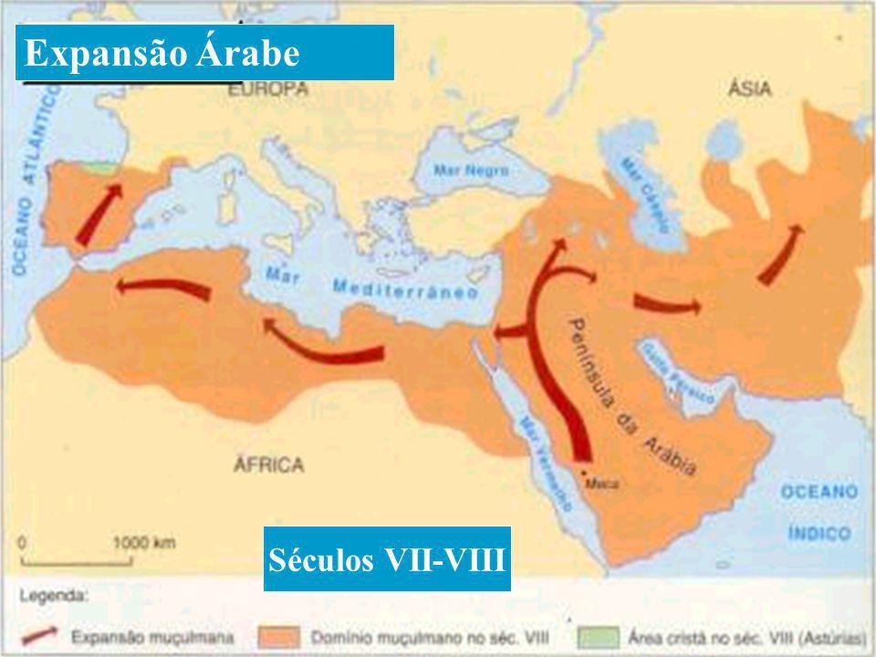 Expansão Árabe Séculos VII-VIII