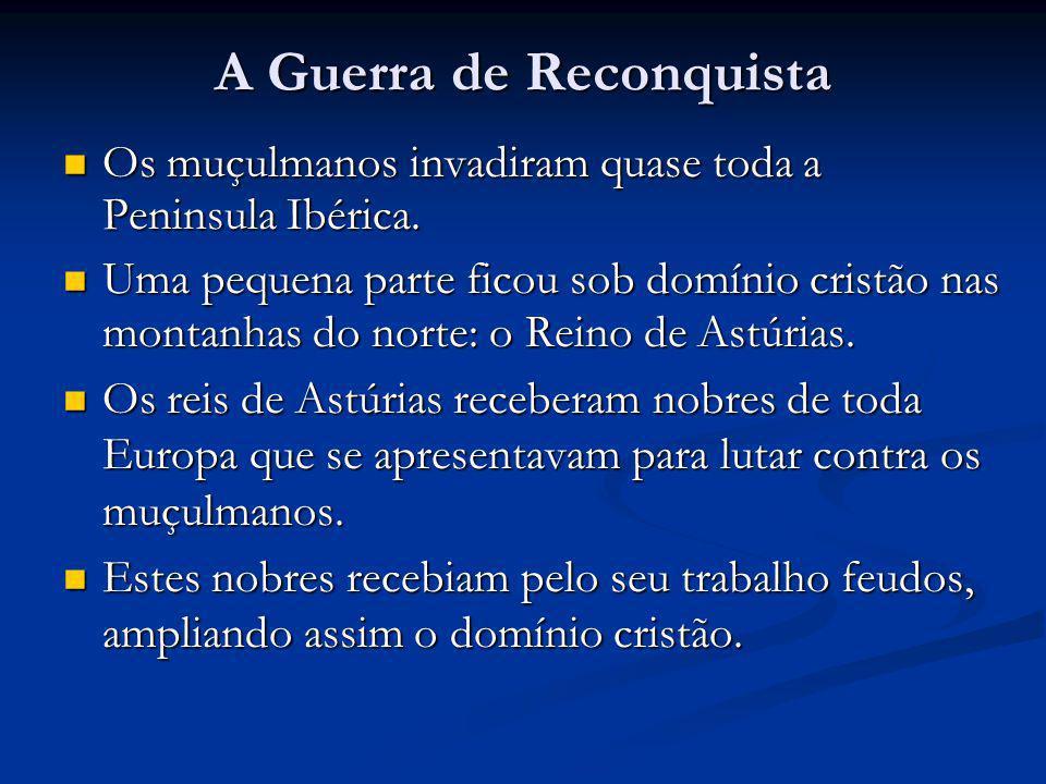 A Guerra de Reconquista