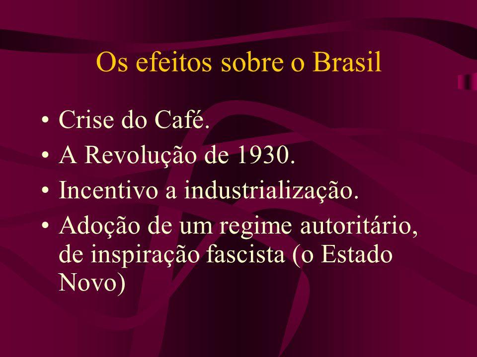 Os efeitos sobre o Brasil