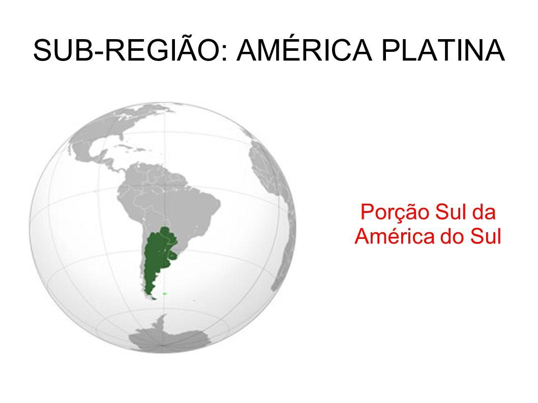 SUB-REGIÃO: AMÉRICA PLATINA