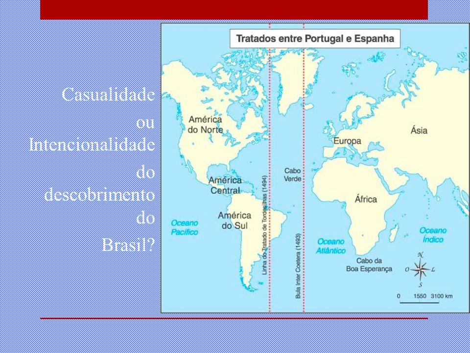 Casualidade ou Intencionalidade do descobrimento do Brasil