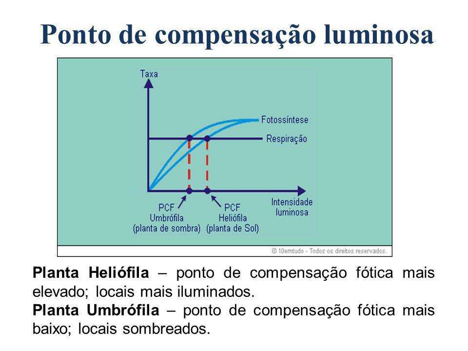 Ponto de compensação luminosa