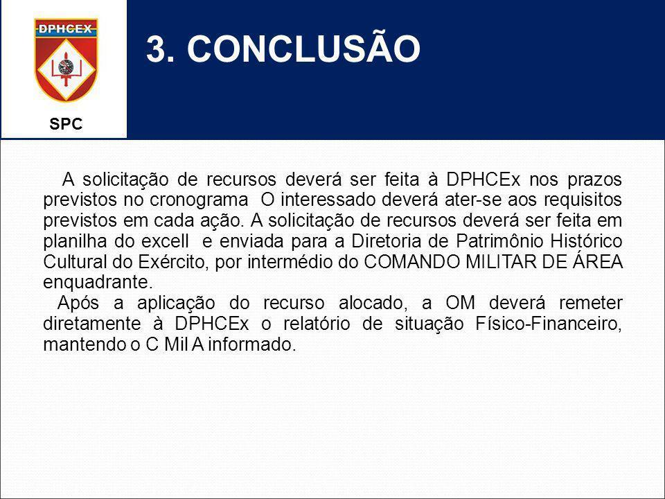 SPC 3. CONCLUSÃO.