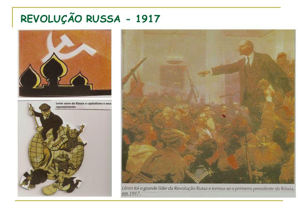 REVOLUÇÃO RUSSA - 1917