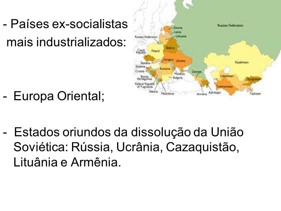 - Países ex-socialistas