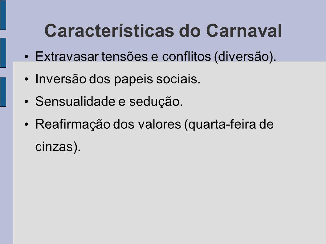 Características do Carnaval